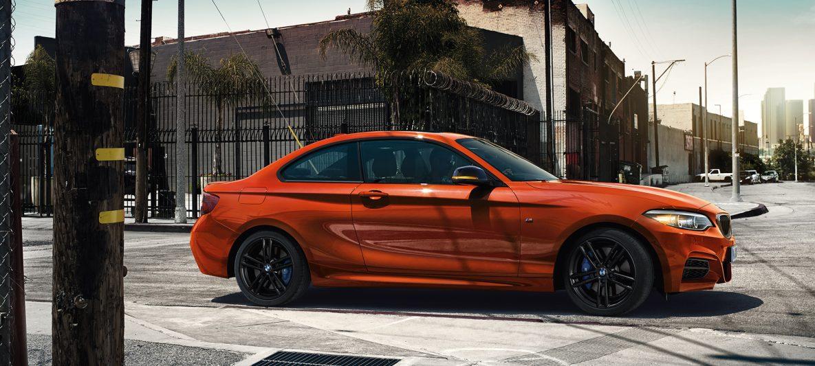 BMW 2er Coupé, Seitschuss