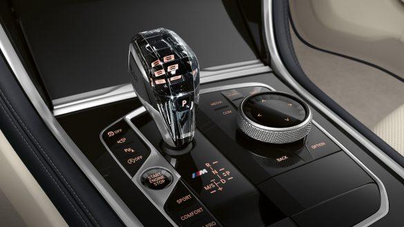 BMW 8er Gran Coupé BMW Individual Interieurleisten in Pianolack Schwarz