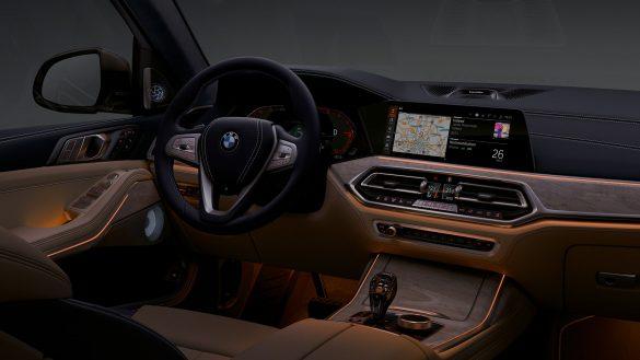 BMW X7 ambientes Licht
