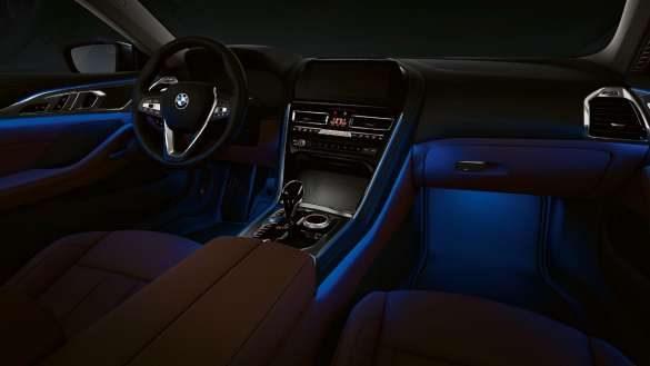 BMW 8er Coupé ambientes Licht