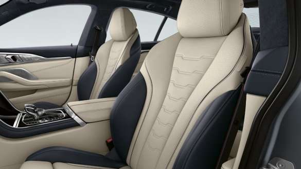 BMW 8er Gran Coupé Multifunktionssitze Fahrer und Beifahrer