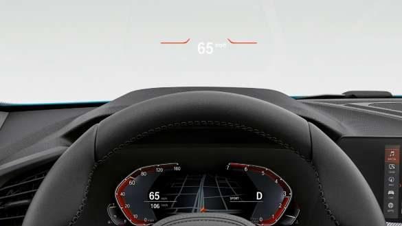BMW 2er Gran Coupé Head-Up Display