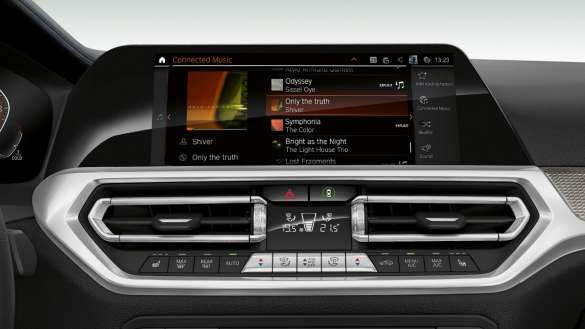 BMW 3er Limousine Connected Music