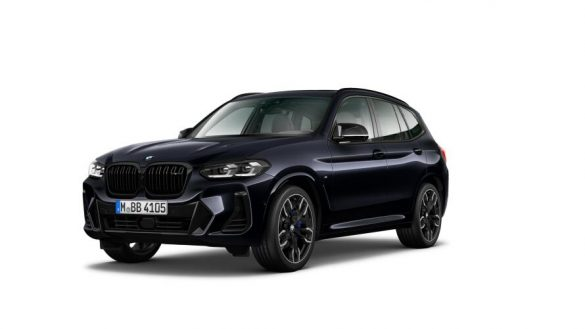 BMW X3 M40d G01 LCI Facelift Dreiviertel-Frontansicht