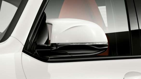 BMW X3 M F97 LCI Facelift 2021 Alpinweiß M Außenspiegel