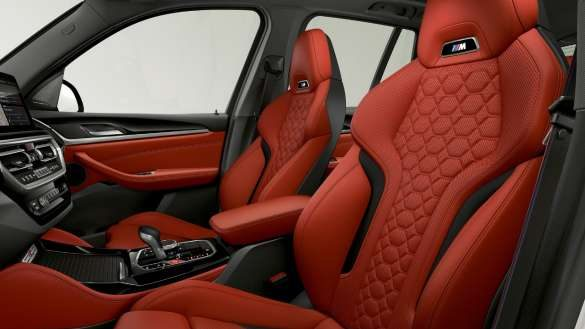 BMW X3 M F97 LCI Facelift 2021 M Sportsitze Innenraum