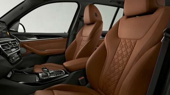 BMW X3 M40i M40d G01 LCI Facelift 2021 Sportsitze für Fahrer und Beifahrer